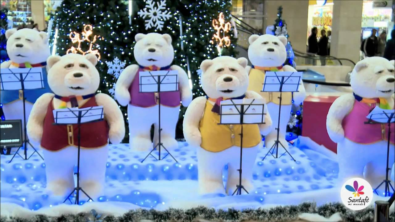 ursinhos animatronics natal christmas bear animatronic show youtube - Christmas Animatronics