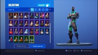 My Skin Collection In Fortnite