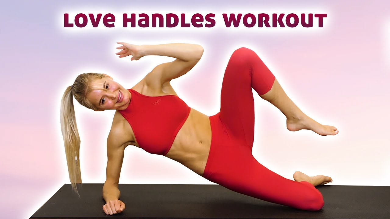 10 Min Best Exercises for Love Handles & Belly Fat, Slim Waist Ab Workout, Obliques