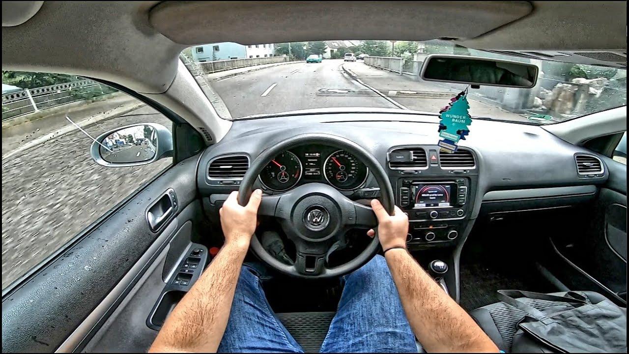 Volkswagen Golf VI 1.6 TDI (2011) - POV Drive