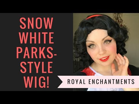 Royal Enchantments Snow White-Inspired Cosplay & Princess Performer Wig Review!