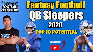 Fantasy Football QB Sleepers - Top 10 Potential