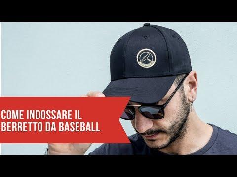 Come si indossa un berretto da baseball
