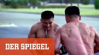 Nordkorea: Schmerzhafte Show für Kim Jong Un   DER SPIEGEL
