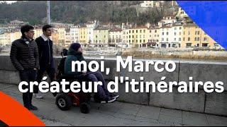 Marco, tétraplégique, crée des itinéraires 100% accessibles