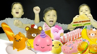 BABY GOT SQUISHY! : UNBOXING BIRTHDAY GIFTS