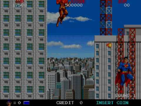 Superman (Arcade) game over