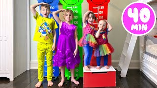 Five Kids Opposites Song + more Children's Songs and videos