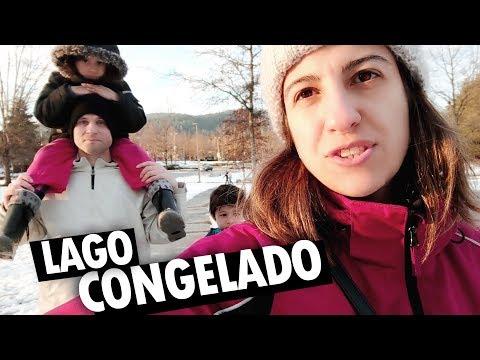 ENCONTRAMOS UM LAGO CONGELADO NO CANADÁ - Vlog Ep.96