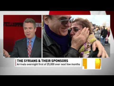 CBC interview Hratch Aynedjian on Syrian Refugees