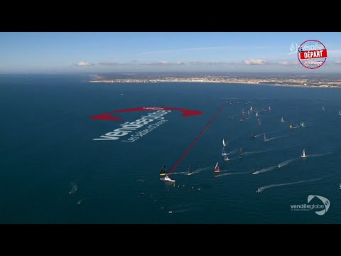 Le départ du Vendée Globe - le résumé