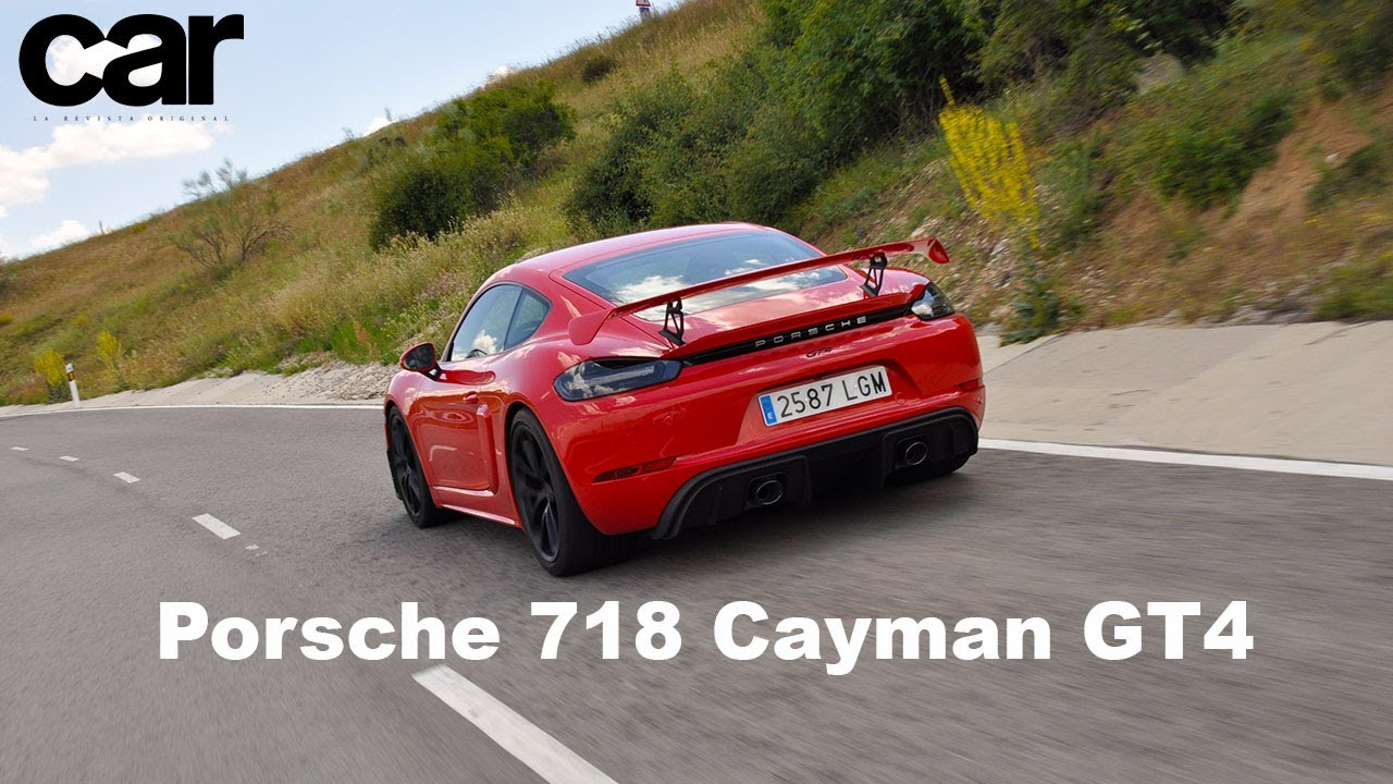 Porsche 718 Cayman GT4 2020 | Prueba en carretera / Test / Review en español / Revista Car