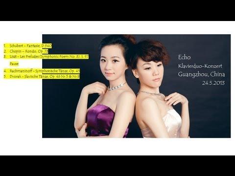 Echo - Klavierduo-Konzert, Guangzhou, China  24.05.13, Teil 1