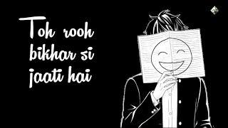 Tadpati Hain Teri Baatein Aur ( Hairaani ) - Sad WhatsApp StatuS