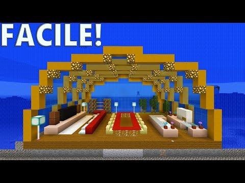TUTO BASE SOUS MARINE ULTRA SÉCURISÉE ! | Minecraft