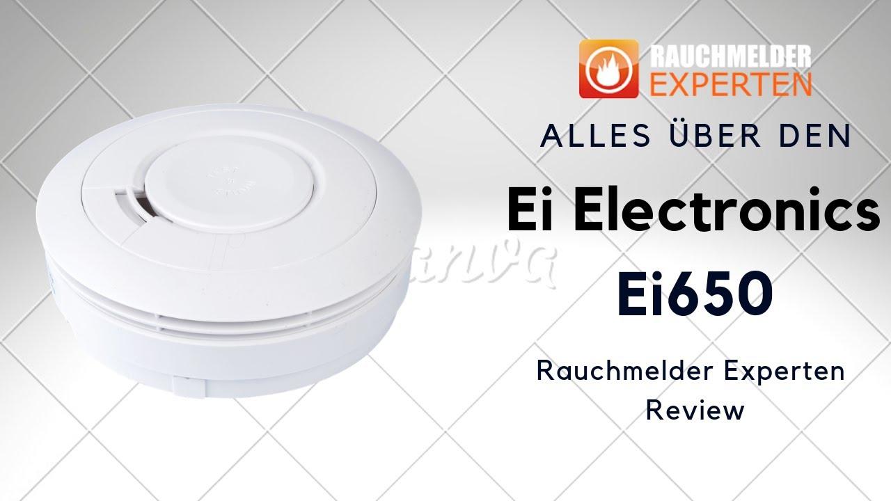 Rauchmelder EI Electronics Ei650 Mit Magnetklebepadpad