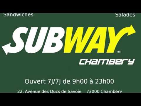 Subway Chambéry spot Hot radio