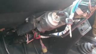 видео Замена замка зажигания на ВАЗ 2101-2107