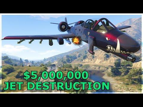DESTROYING Players In A B-11 STRIKEFORCE! (GTA 5 Online)