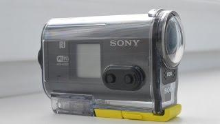 Как настроить фокус экшн-камеры на примере Sony HDR-AS30V