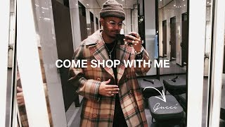 Come Shop With Me & James: Gucci | Prada | Acne Studios