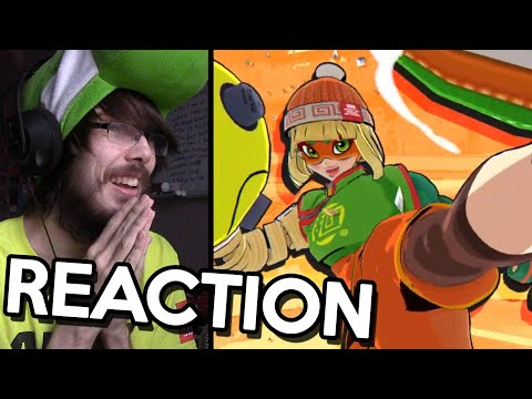 "MIN MIN ARMS HERSELF! REACTION – Super Smash Bros. Ultimate – Mr. Sakurai Presents ""Min Min"""