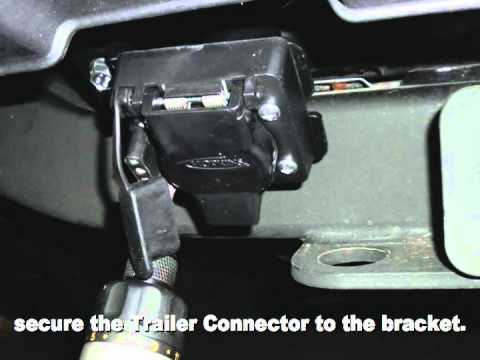 installing trailer wiring kit on range rover hse 2010 on