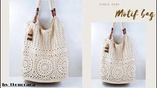 (코바늘 가방뜨기)Motif crochet bag/20…