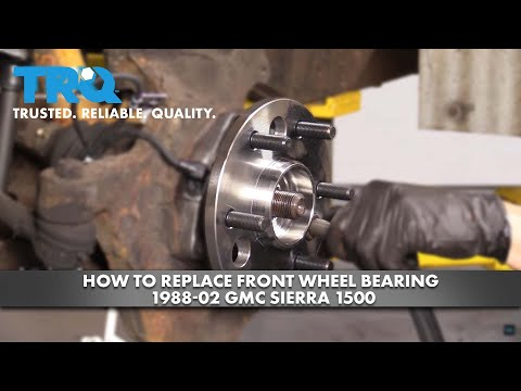 How to Replace Front Wheel Bearing 1988-02 GMC Sierra 1500