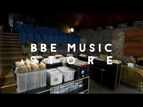 Inside BBE Music Store - East London's newest soul hideaway