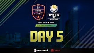 FIFA Online 4 : EACC 2018 Final Round [Day 5]