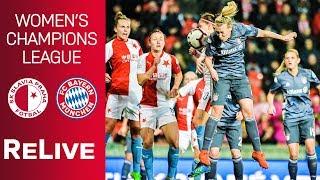 SK Slavia Praha vs. FC Bayern 1-1 | UEFA Women's Champions League 2018/19 - Quarter-Final | ReLive