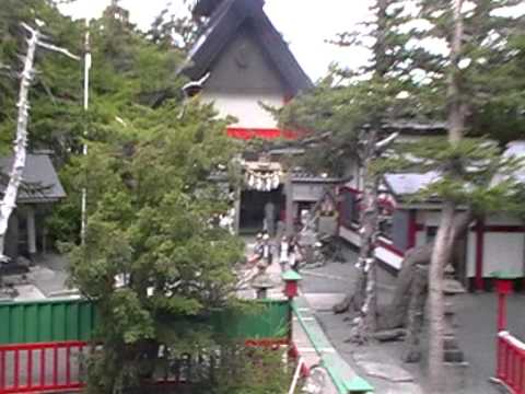 mt fuji base camp shops