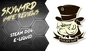 Обзор жидкости Steam dog | Вкусно, собака :)