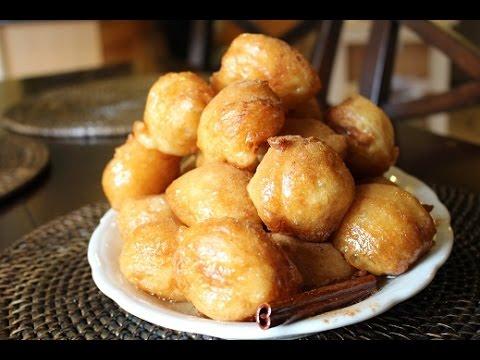 loukoumades: Greek Honey Donuts