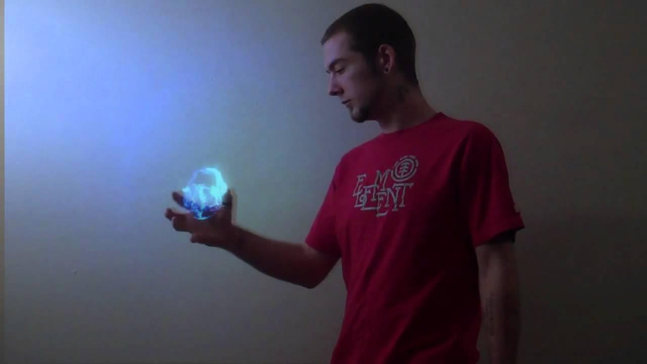 My Brother Jesse Holding A Fireball