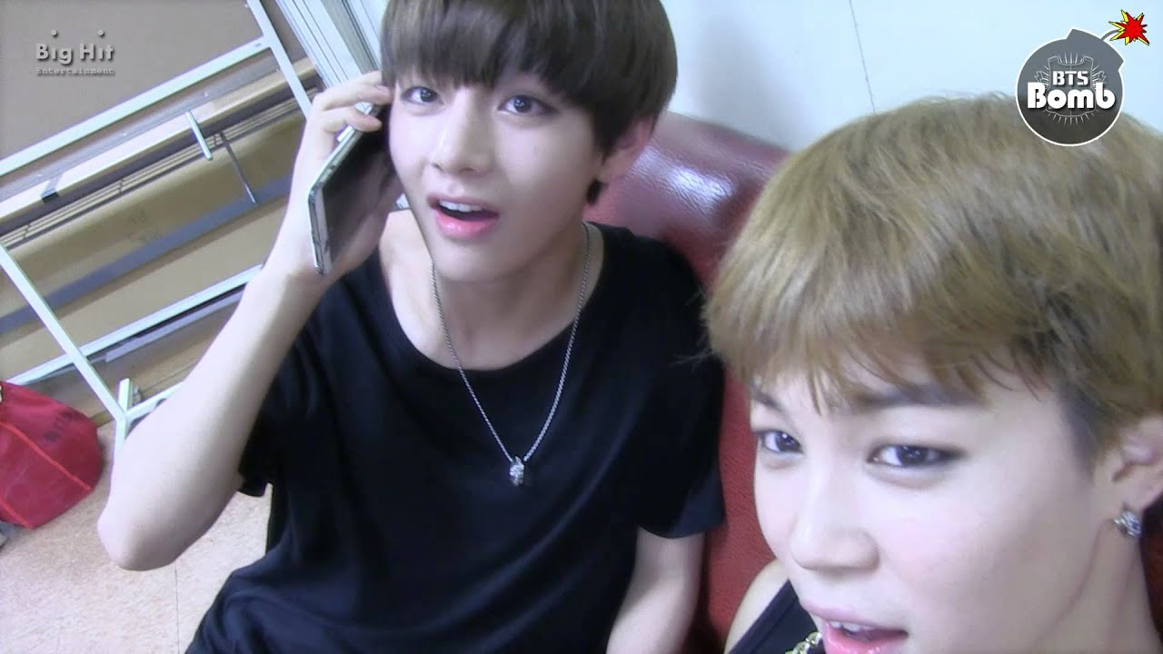 [BANGTAN BOMB] Jimin is on the phone with Ms A R M Y  - BTS (방탄소년단)
