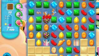 Candy Crush Soda Saga - Level 748 (3 stars, No boosters)