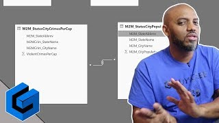 Looking at Power BI Many to Many