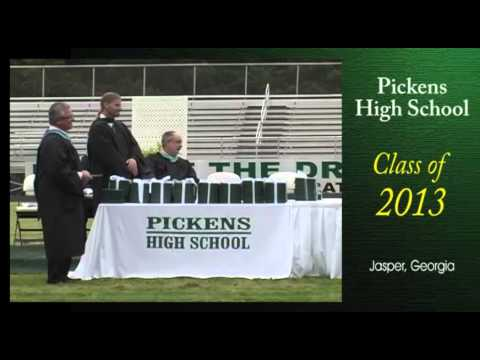 Pickens High School Graduation 2013 - Jasper GA