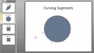 PowerPoint trucs et Astuces: Créer des Formes Personnalisées par des Points d'Édition