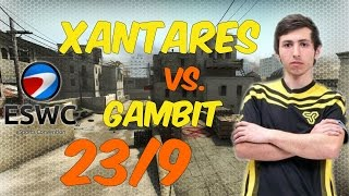 XANTARES |Space Soldiers| POV 1440p@60fps | 23/9 vs. Gambit @ ESWC 2016