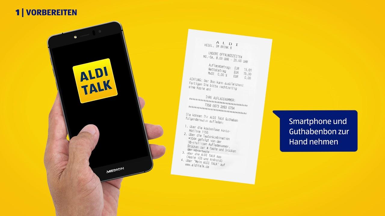 Aldi Talk Sim Karte Kaufen.Guthaben Aufladen Aldi Talk