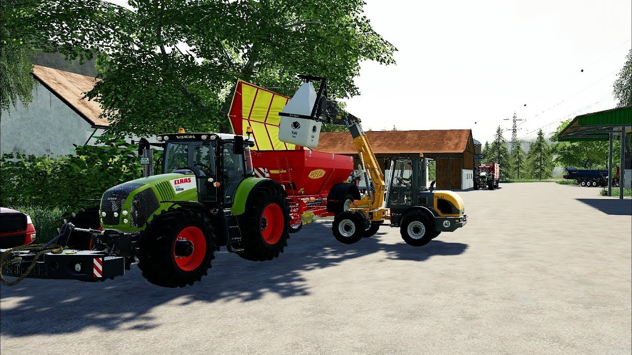 FS19 - Forestry and Farming on Felsbrunn 142