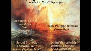 Arcangelo Corelli: Suite for Strings: 1. Sarabande