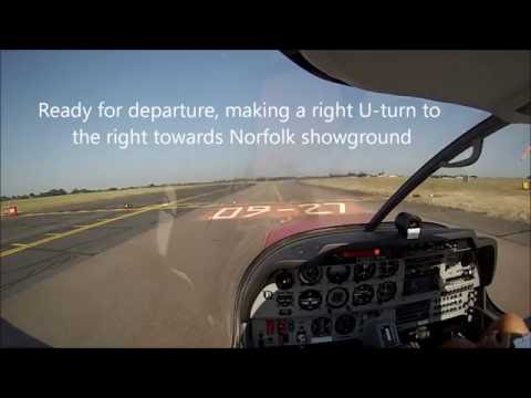 Norwich airport EGSH to Coventry airport EGBE Robin DR400