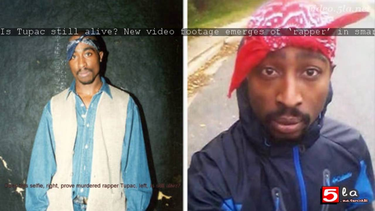 is tupac still alive new video footage emerges of �rapper