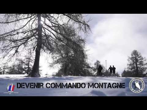 Commandos montagne avec le 4e chasseurs