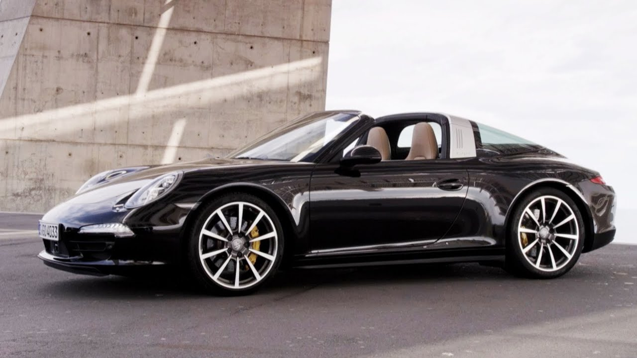 2015 porsche 911 targa 4s design youtube - Porsche 911 2015 Black