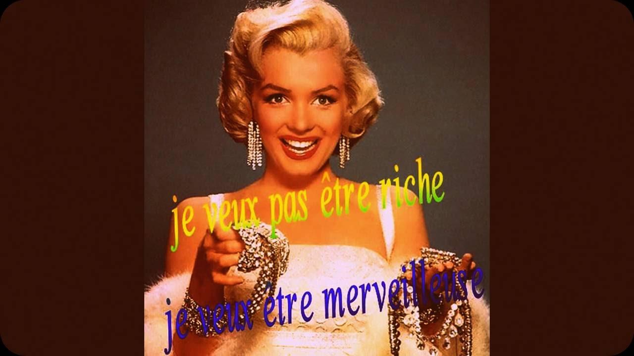 Marilyn Monroe Citations Et Phrases Cultes Youtube